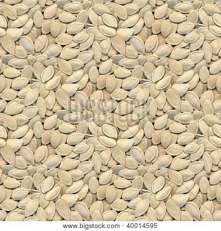 Pumpkin Seeds Seamless Texture Pattern