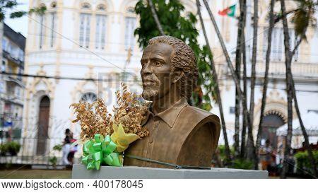 Salvador, Bahia, Brazil - December 16, 2020: Lucas Dantas Do Amorim Torres, Martyred By The Alfaiate