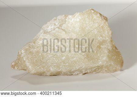 Rock Sample Consisting Of Talc Mineral, Metamorphic Rock, Boñar, León, Spain.