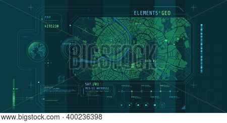 Design Of A Futuristic Software Interface For Tracking Geo-position.