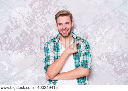 Menswear And Fashionable Clothing. Man Looks Handsome Casual Style. Daily Outfit. Model Clothes Shop