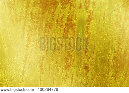 Gold Foil Digital Paper. Gold Textured Background. Golden Texture Of Foil, Metal Sheet, Wrapping Pap