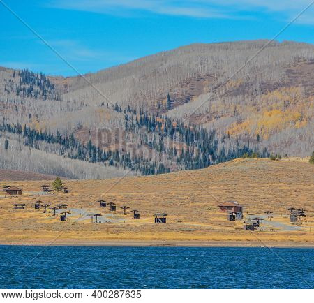 Strawberry Bay Campground On Strawberry Reservoir In Uinta National Forest, Heber City, Utah