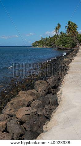 Rocky Lahina Coastline