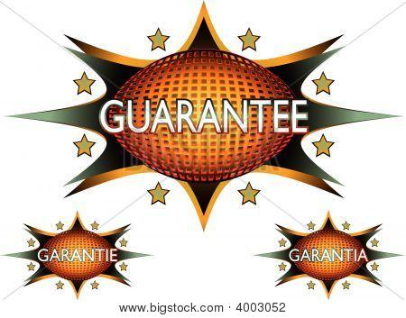 Guarantee Sticker Icon