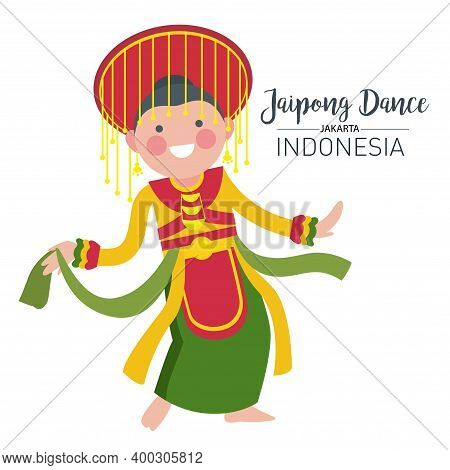 Vector Stock Of Jaipong Dance, The Traditional Dance Origin Of Jakarta Indonesia