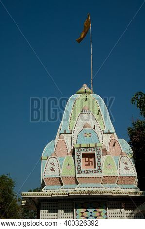 Hindu Temple In The State Of Gujarat. India.