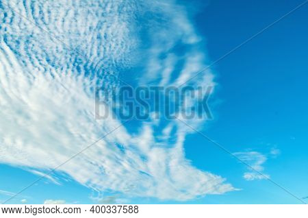 Sky landscape. Sky background. Blue sky background, picturesque vast sky landscape panoramic scene with dramatic clouds, sky nature, colorful sky landscape, vast sky background, sky scene