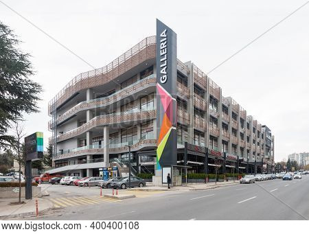 Ankara / Turkey - December 20 2020: Galleria Shoping Mall Is One Of The First Shopping Malls In Anka