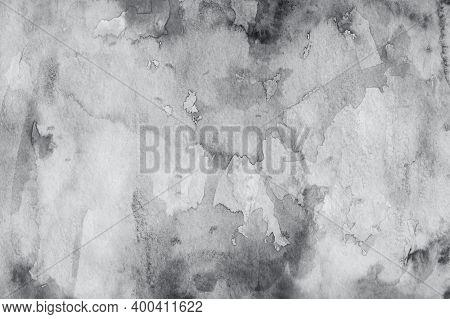 Watercolor Grey Background. Grunge Light Grey Watercolor Background. Watercolor Background Color Of