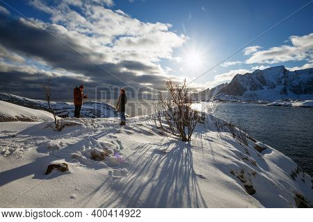 Beautiful View. Guide To Reine On Norways Lofoten Islands. Norway