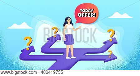 Today Offer Symbol. Future Path Choice. Search Career Strategy Path. Special Sale Price Sign. Advert
