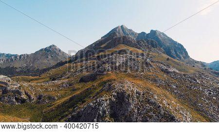 Mountain Peaks Of Mallorca, Serra De Tramuntana, World Heritage Site By Unesco. High Quality Photo