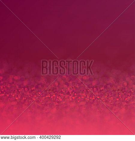 Valentines Day Backgruond. Blurred Hearts. Elegant Vector Illustration