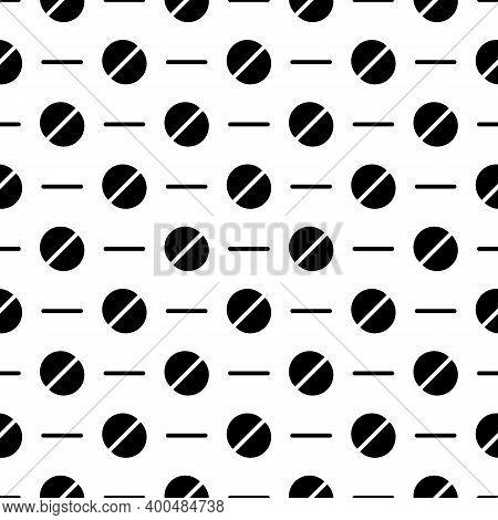 Semicircles, Strokes Seamless Pattern. Broken Circles, Dashes Print. Shapes, Lines Ornament. Circula