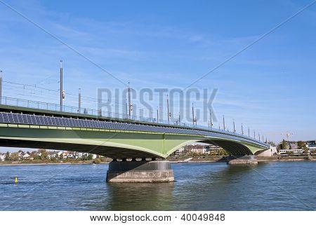 Kennedy Bridge In Bonn, Germany