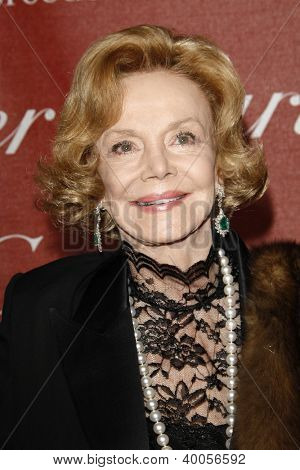 PALM SPRINGS, CA - JAN 7: Barbara Sinatra at the 23rd Annual Palm Springs International Film Festival Awards Gala at the Palm Springs Convention Center on January 7, 2012 in Palm Springs, California