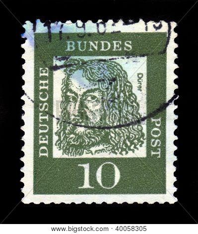Portrait Of Albrecht Durer A German Painter