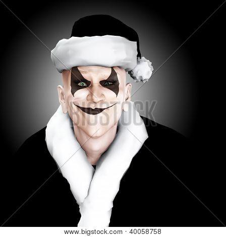 Evil Clown Santa
