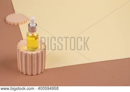 Dropper Bottle - Natural Organic Cosmetics, Hyaluronic Acid, Serum, Moisturizer Or Facial Anti-aging