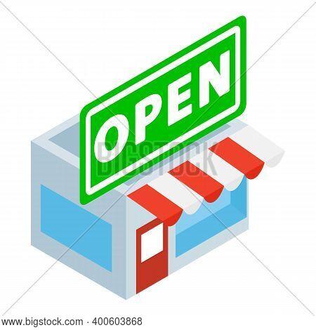 Offline Commerce Icon. Isometric Illustration Of Offline Commerce Vector Icon For Web