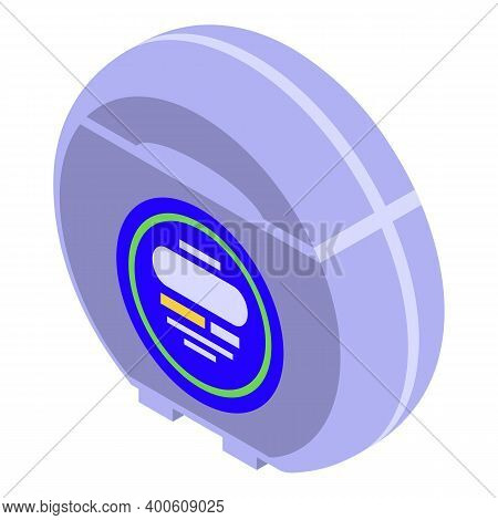 Dental Floss Icon. Isometric Of Dental Floss Vector Icon For Web Design Isolated On White Background