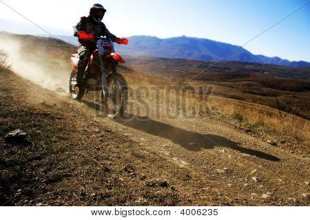 Moto Racer En Route