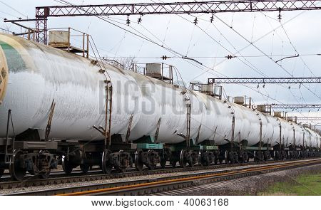 Frozen Tanks With Liquefied Gas