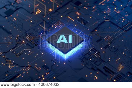 Futuristic Robot Technology Development, Artificial Intelligence Ai, And Machine Learning Concept. G