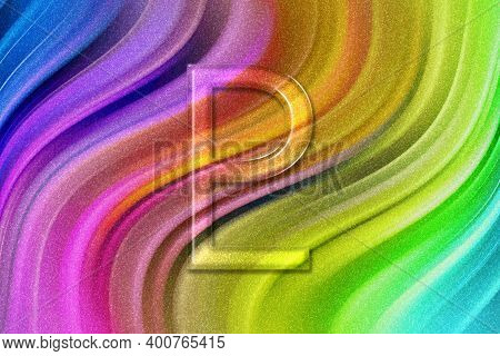 Symbol Of Pluto, Pluto Sign, Astrology Pluto Planet, Rainbow Glitter Background