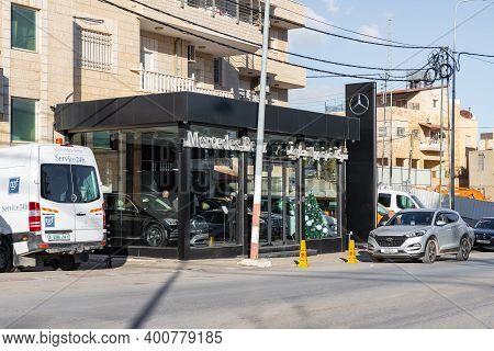 Bethlehem, Israel, December 09, 2020 : Deserted Streets Due To Coronavirus In Bethlehem In The Pales