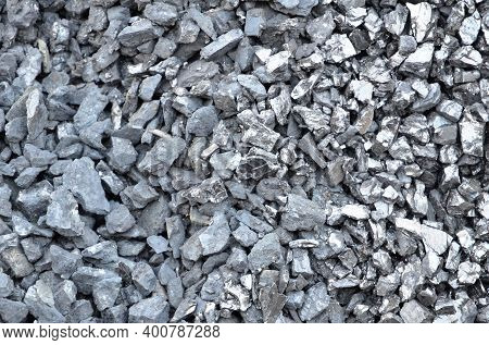 Coal Anthracite Fine Fraction Of Different Types.