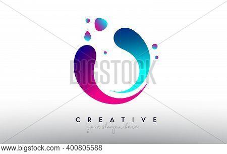 O, O, Blue, Purple, Colorful, Bubble, Gum, Bubble Gum, Fluid, Rainbow, Typography, Logo, Concept, Ve