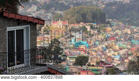 Beautiful Townscape Of Kodaikanal Hill Station. Kodaikanal Is A Very Popular Tourist Destination Of