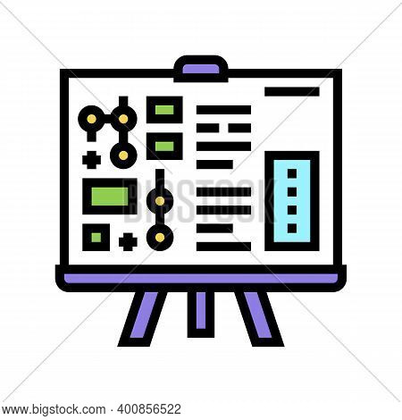 Technical Report Color Icon Vector. Technical Report Sign. Isolated Symbol Illustration