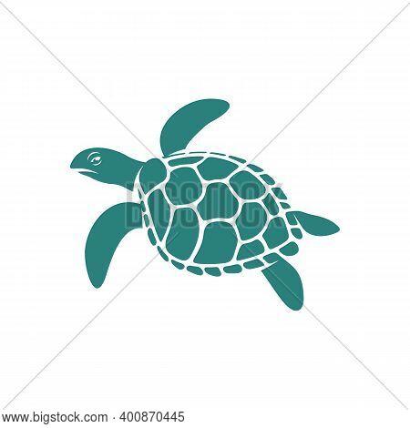 Turtle Design Vector Illustration, Creative Turtle Logo Design Concepts Template, Icon Symbol