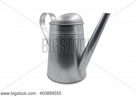New Watering Can Isolated On White Background