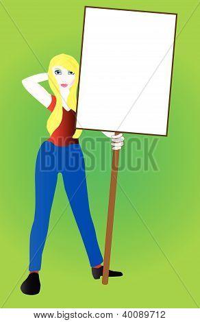 Sign Girl