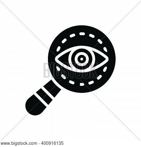 Black Solid Icon For Mystery Secret Secrecy Enigma Arcanum Hugger-mugger Suspect Inspector Detective