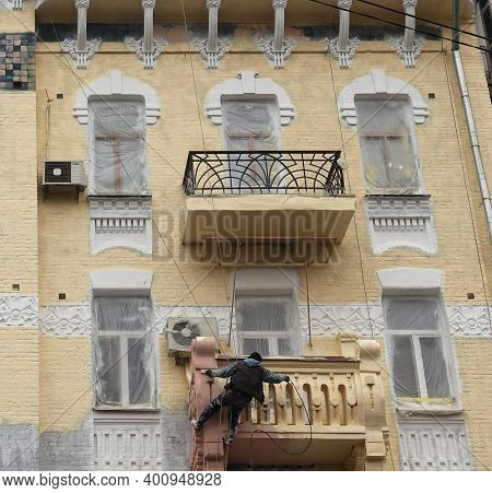Restoration Of An Old House In Kiev