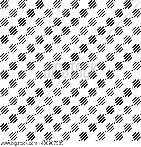 Seamless Pattern. Angled Stripes, Rhombuses Motif. Diagonal Lines, Diamonds Ornament. Slanted Dashes