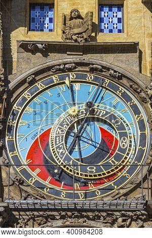 Prague Astronomical Clock, Or Prague Orloj (czech: Prazsky Orloj), Medieval Astronomical Clock Locat