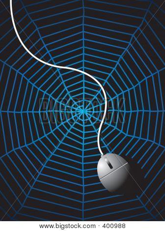 A Mouse On A Web