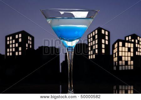 Metropolis Blue Martini
