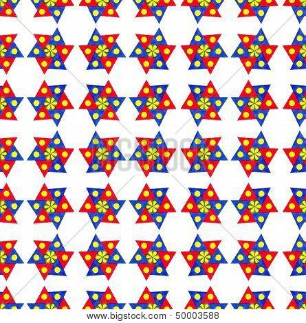 Seamless geometric wallpaper