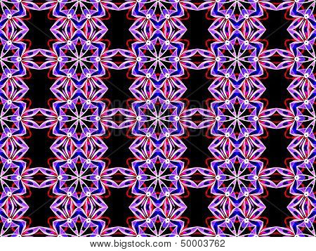 Seamless smoky geometric pattern