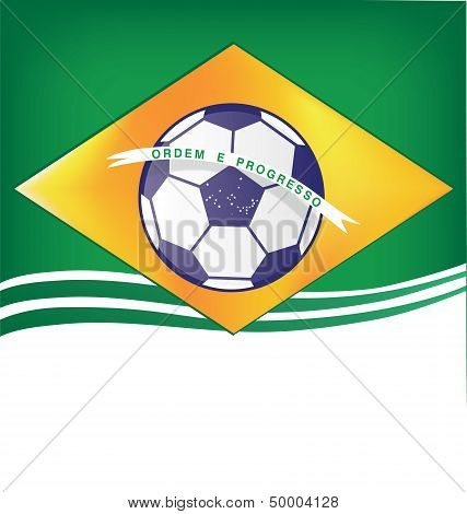 Brasil Background Soccer