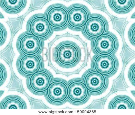 digital kaleidoskope with circles