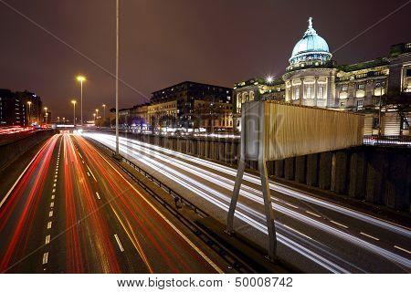 Glasgow night