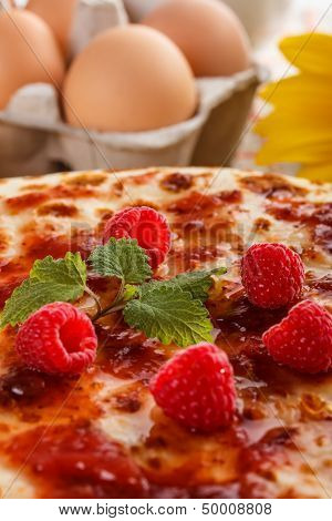 Close Up Of Pancakes